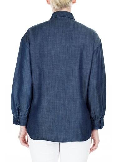 Emporio Armani  Gömlek Kadın Gömlek 3H2C62 2D5Az 0941 Lacivert